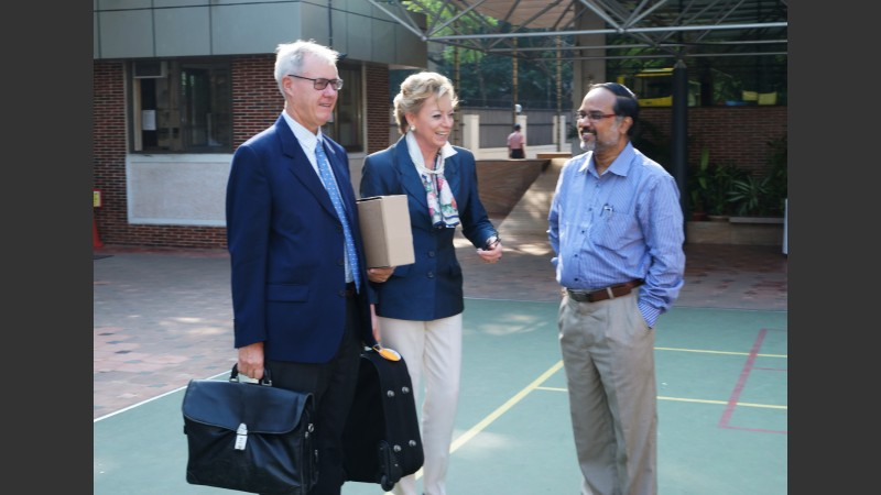 Terry Haywood, Beatrice Caston, Nandakumar Venkatraman