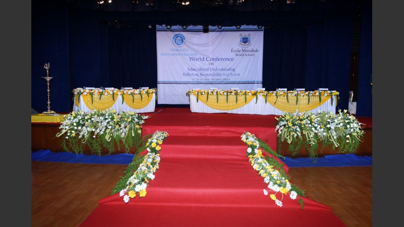 Main Hall Flower Displays